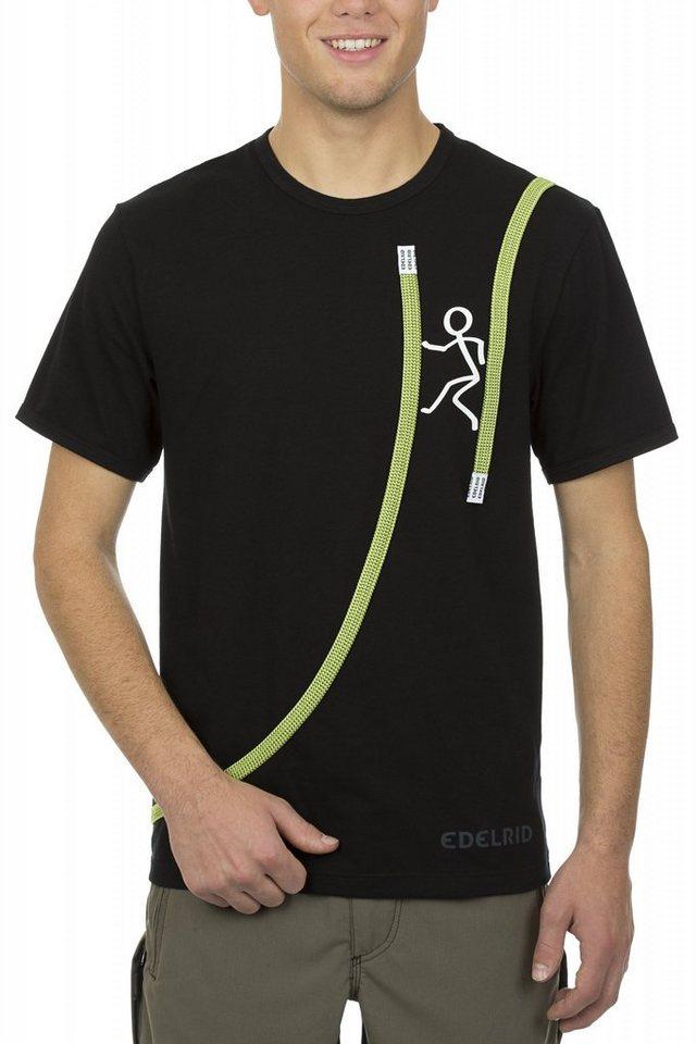 Edelrid T-Shirt »Rope T-Shirt Men« in schwarz