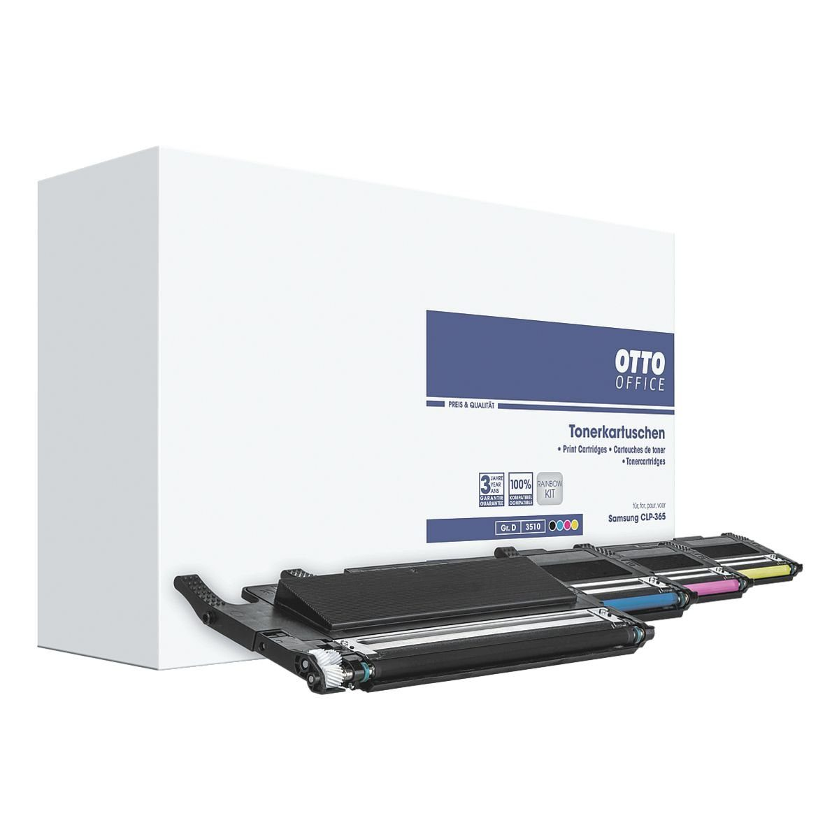 OTTO Office Standard Toner-Set ersetzt Samsung »CLT-P406C/ELS«