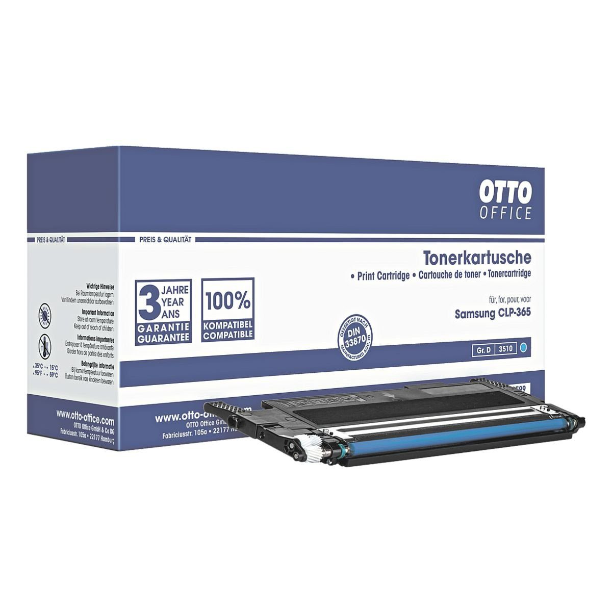 OTTO Office Toner ersetzt Samsung »CLT-C406S/ELS«
