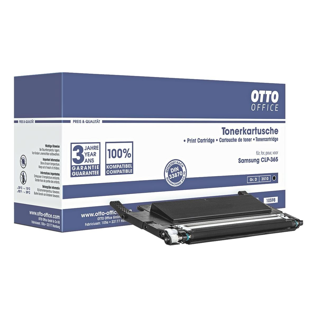 OTTO Office Toner ersetzt Samsung »CLT-K406S/ELS«