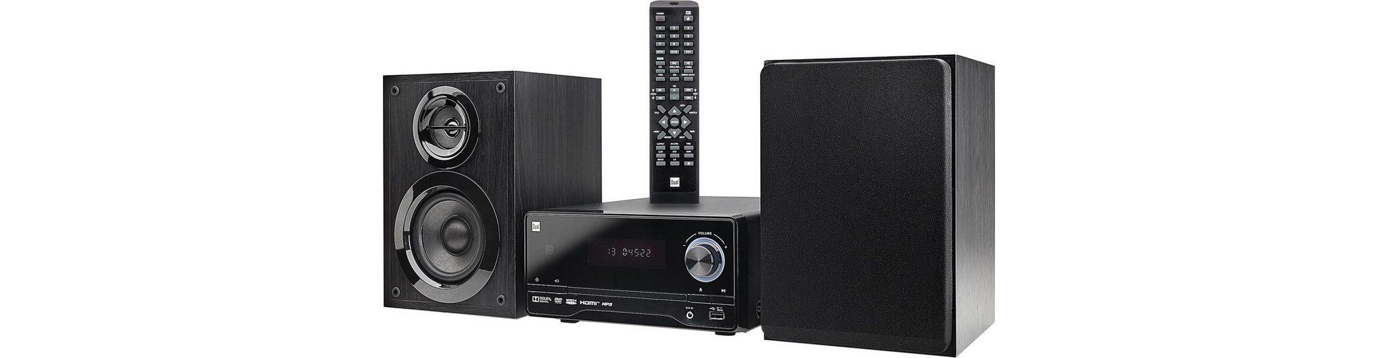 Dual DVD-MS 120 Microanlage, RDS, 1x USB