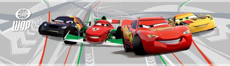 Bordüre »Cars« in bunt