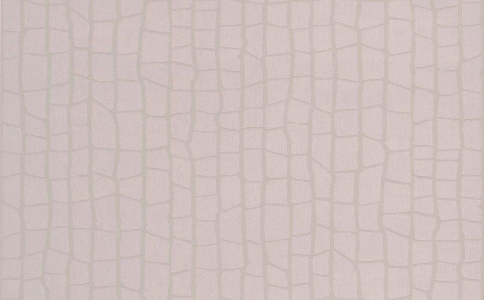 Vliestapete »Savanna«, taupe in grau
