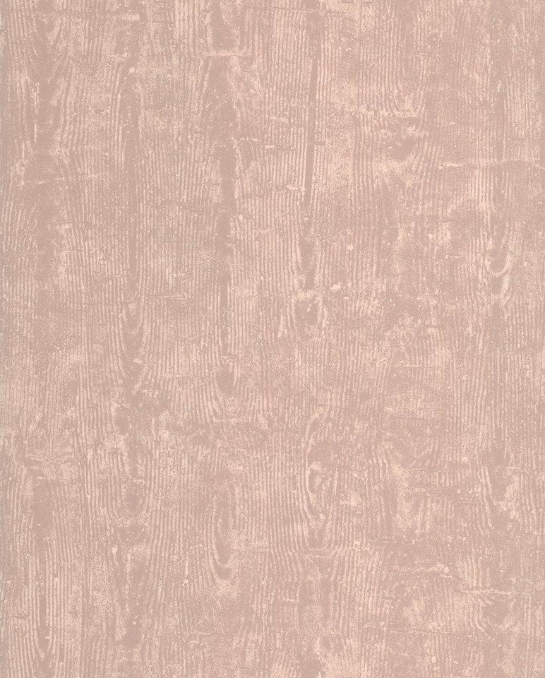 Vliestapete »Treibholz«, taupe in grau