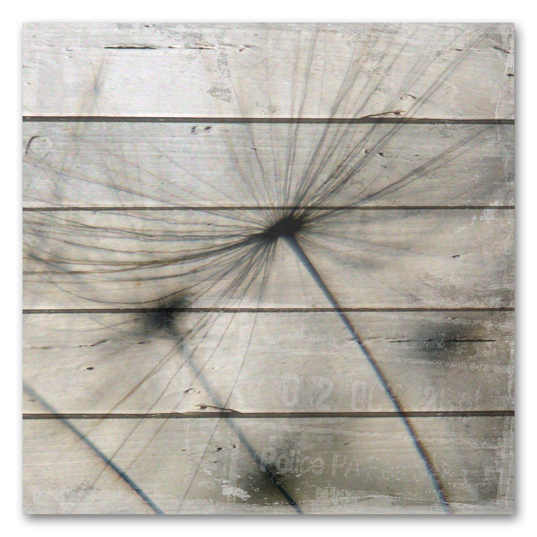 Holzbild »Pusteblume«
