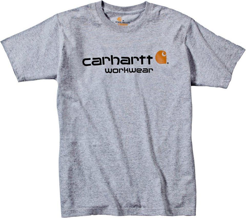 Short Sleeve Shirt »101214 Core Logo« in grau