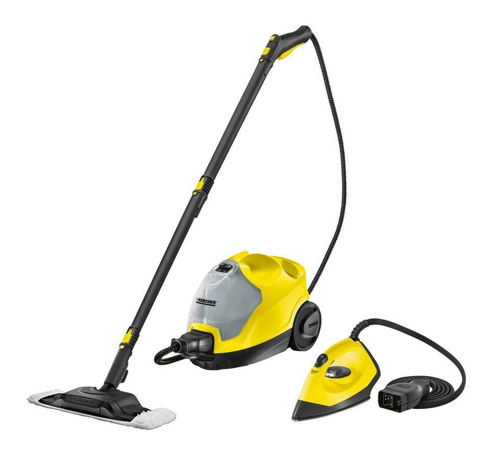 Dampfreiniger »SC 4 + Iron Kit« in gelb