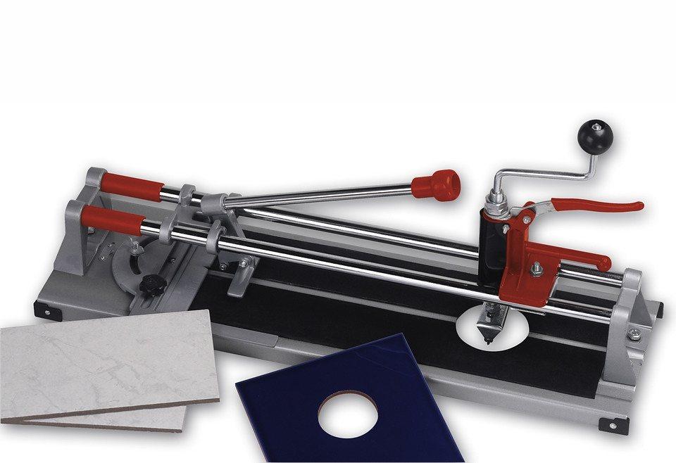 Fliesenschneid- und Brechmaschine »400 mm« in silberfarben