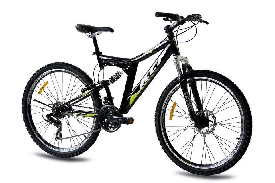 KCP Mountainbike »Rooster, 66,04 cm (26 Zoll)« in schwarz
