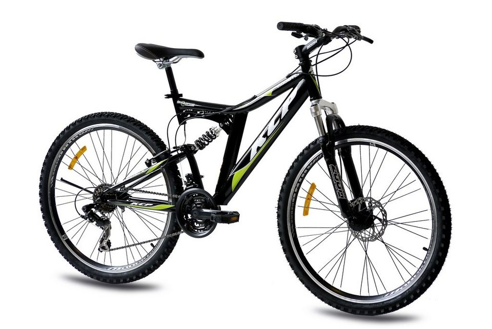 Mountainbike »Rooster«, 26 Zoll, 21 Gang, Scheibenbremse in schwarz