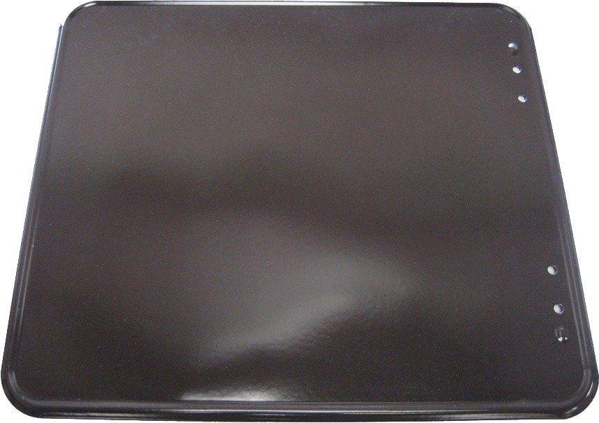 Unterlegplatte in schwarz