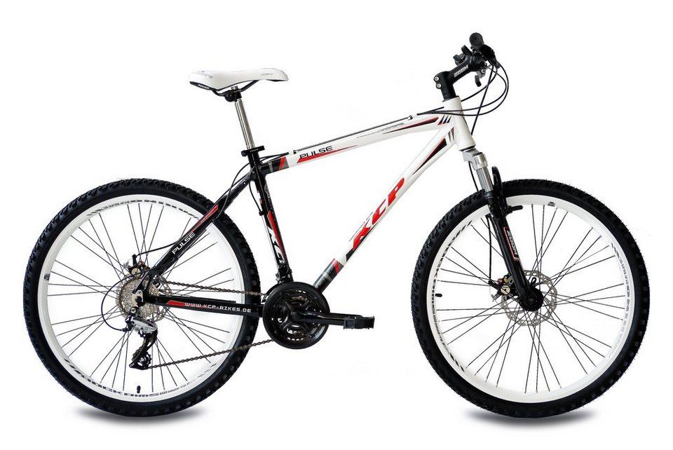 Mountainbike »Pulse, 66,04 cm (26 Zoll)« in weiß