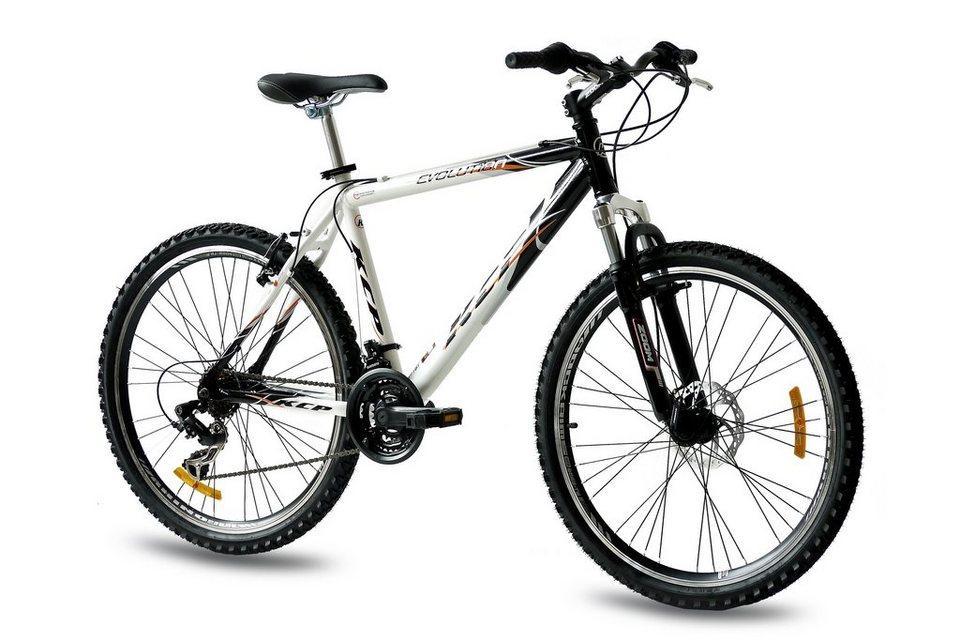 Mountainbike (Herren) »Evolution, 66,04 cm (26 Zoll)« in weiß