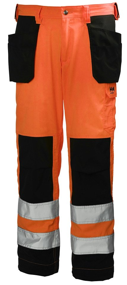 Arbeitshose »Alta Construction Pant« in orange/schwarz