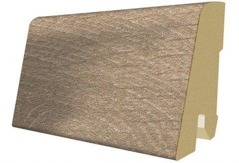 Sockelleisten passend zum Laminat »Megafloor M1«, woodwork eiche Nachbildung in braun