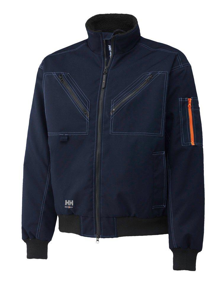 Arbeitsjacke »Bergholm Jacket« in dunkelblau