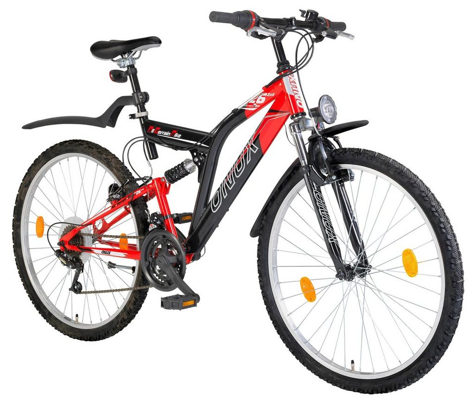 All-Terrain-Bike »66,04 cm (26 Zoll), 71,12 cm (28 Zoll)« in rot
