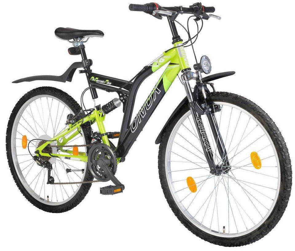All-Terrain-Bike »66,04 cm (26 Zoll), 71,12 cm (28 Zoll)« in grün