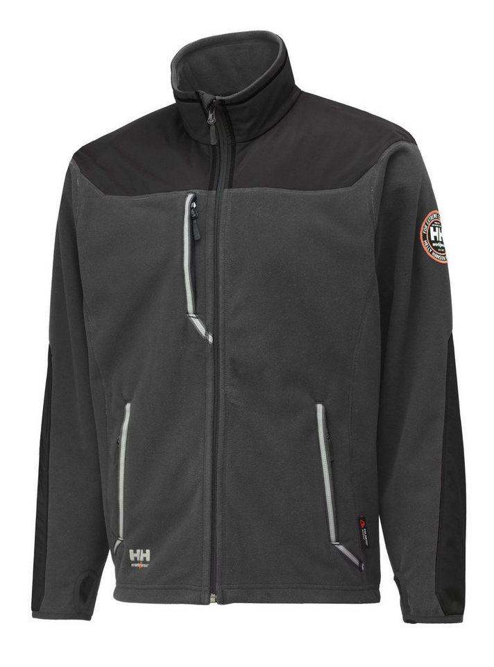 Fleecejacke »Barnabay Jacket« in grau/schwarz