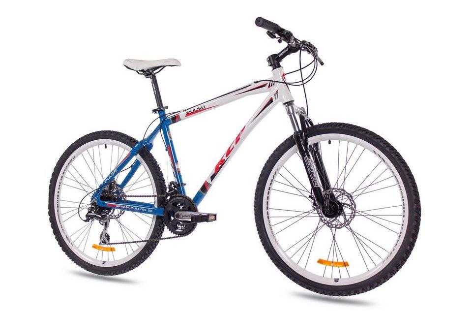 Mountainbike »Pulse, 66,04 cm (26 Zoll)« in weiß