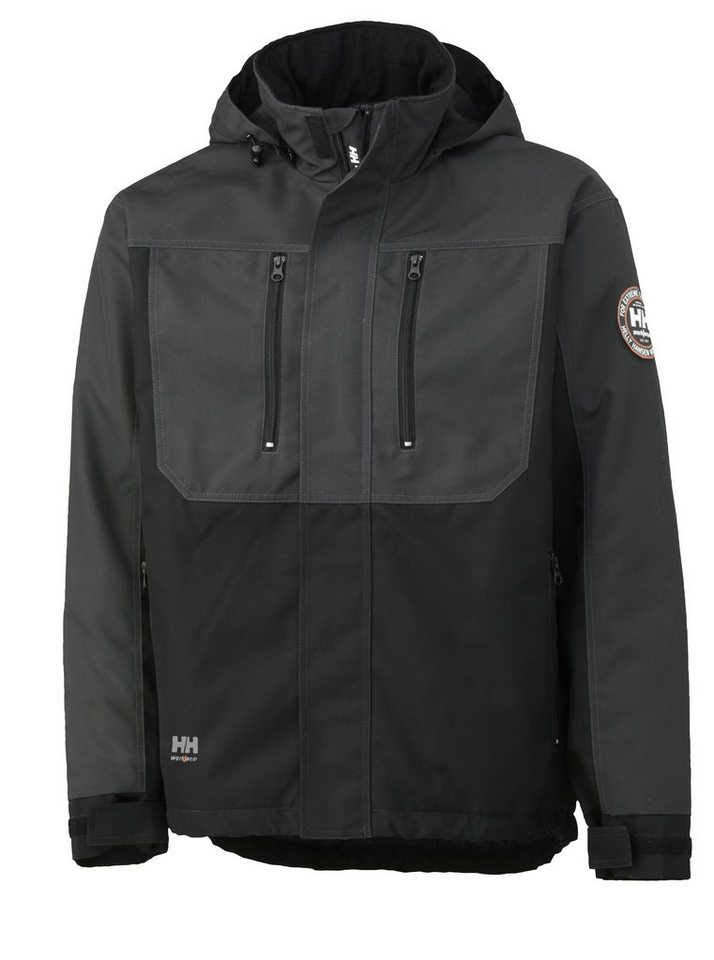 Arbeitsjacke »Berg Jacket« in grau/schwarz