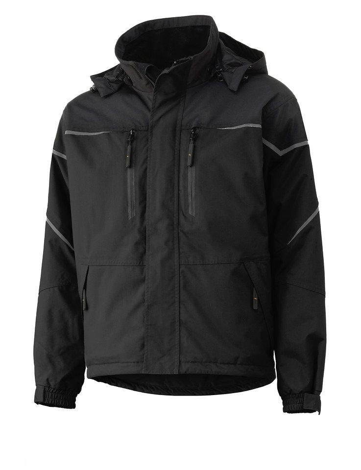 Arbeitsjacke »Kiruna Jacket« in grau/schwarz