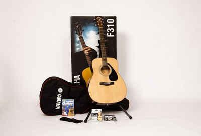 Yamaha Westerngitarre »Dreadnought Westerngitarrenset mit Gitarrenständer« 4/4