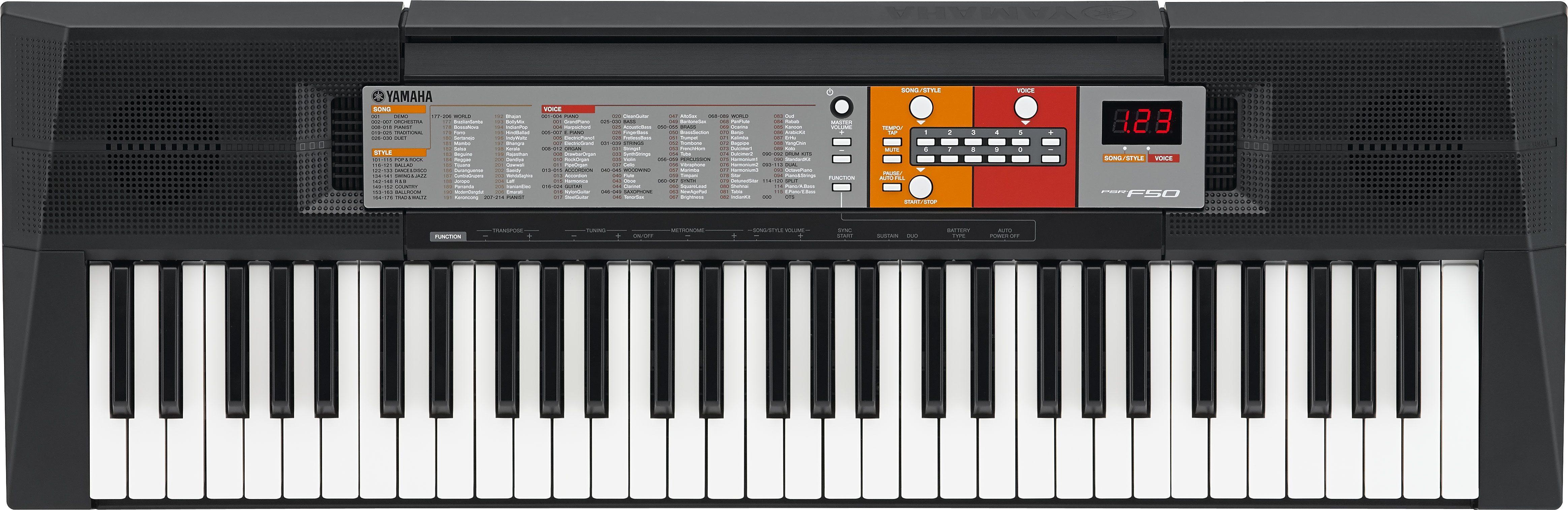 Keyboard, Yamaha, »Digitales Keyboard PSR-F50«