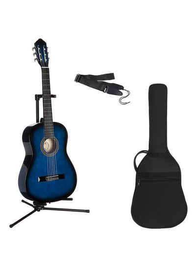 Gitarrenset »Konzertgitarre« 1/4, inkl. Gitarrentasche und Gitarrengurt