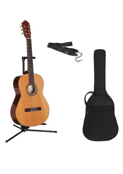 Konzertgitarre »Konzertgitarrenset 3/4 Jose Ribera®« 3/4, Komplettset