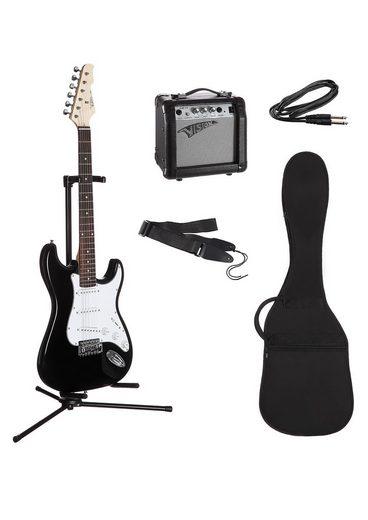 Elektrisches Gitarrenset für Rechts- und Linkshänder, »E-Gitarren-Set, ready to go«, MSA