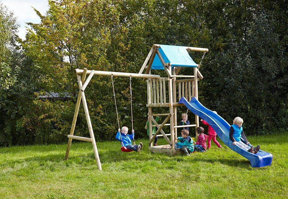 Dein Spielplatz Spielturm mit Plane, ohne Wellenrutsche »Asterix«