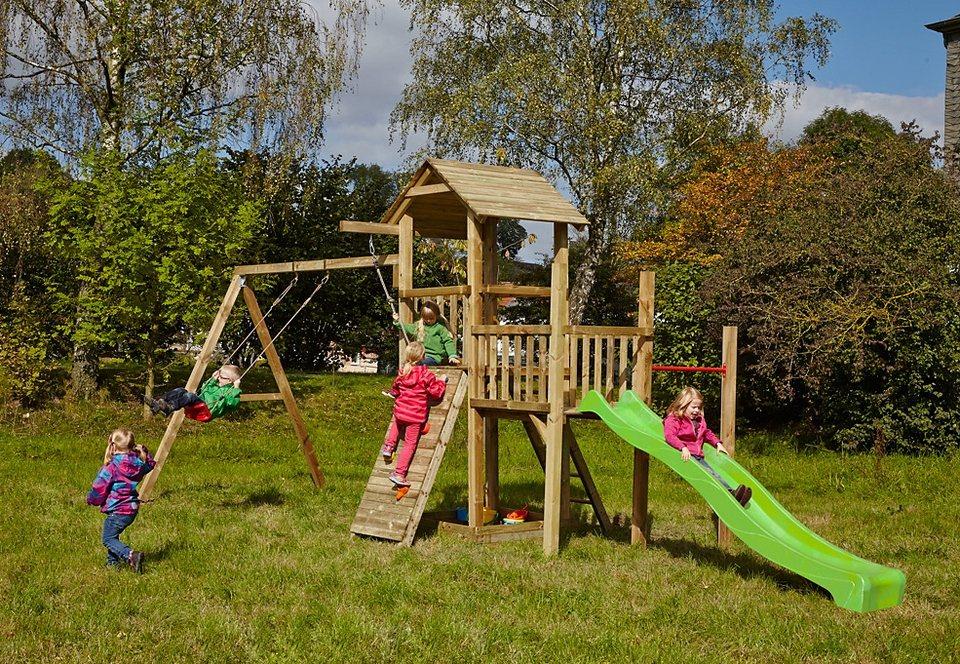 Spielturm, Dein Spielplatz, »Pirate & Princess 1« hellgrün. in natur