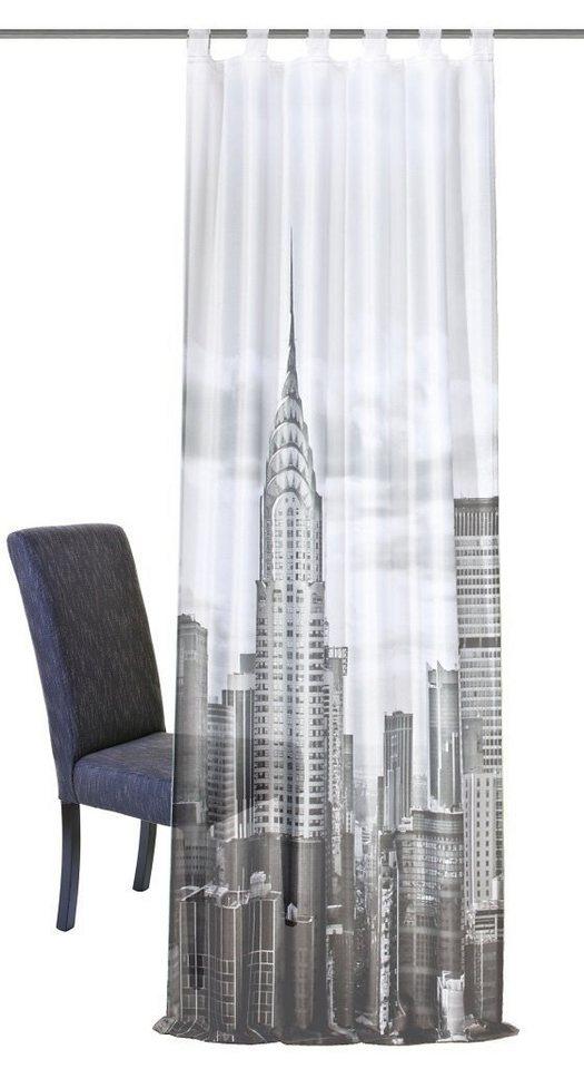 gardine assisi home wohnideen schlaufen 1 st ck online kaufen otto. Black Bedroom Furniture Sets. Home Design Ideas