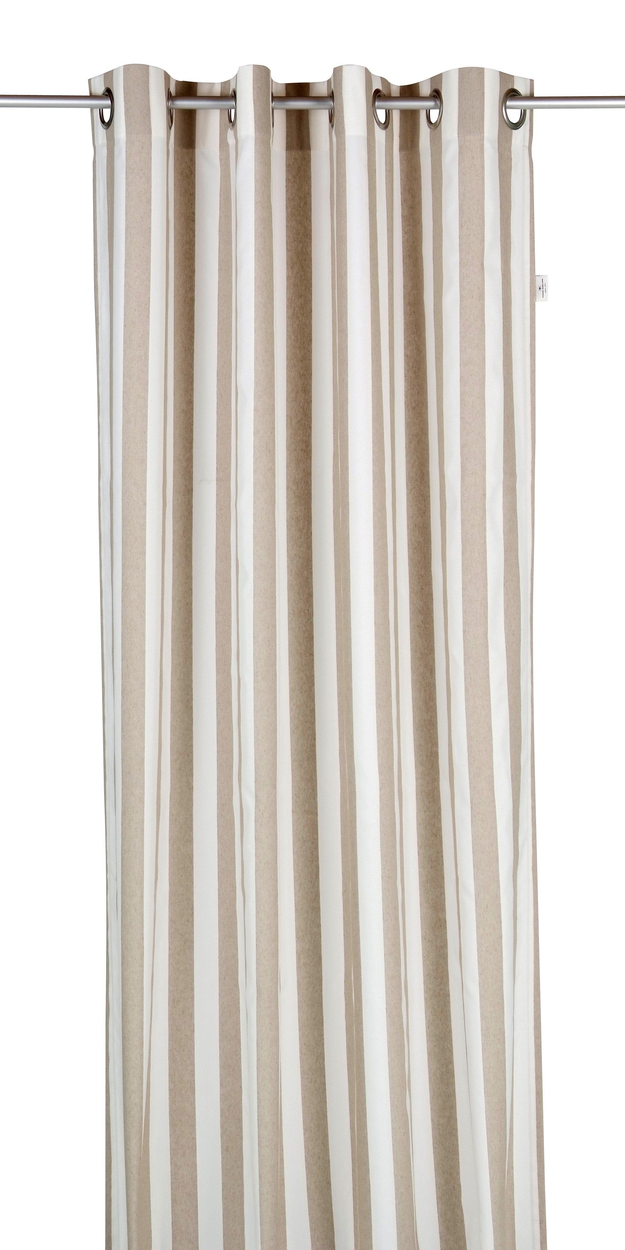 Vorhang, Tom Tailor, »Block Stripes«, mit Ösen (1 Stück)