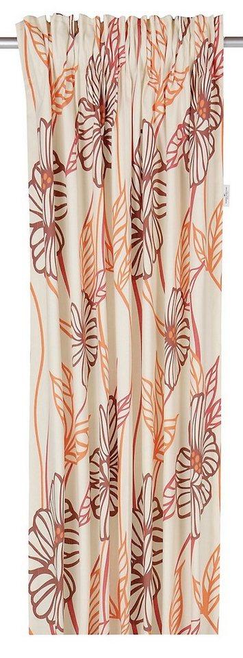 vorhang big flowers tom tailor multifunktionsband 1. Black Bedroom Furniture Sets. Home Design Ideas