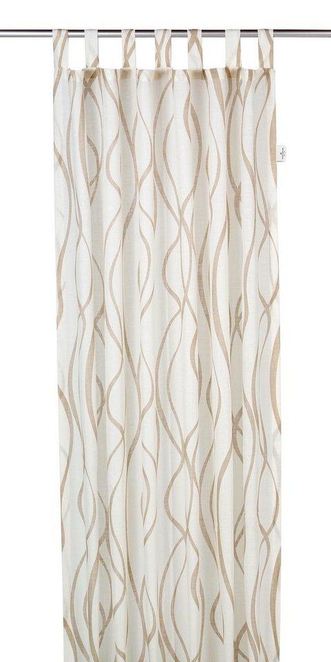 Vorhang, Tom Tailor, »Waved Stripes« (1 Stück) in natur
