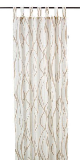 Vorhang »Waved Stripes«, TOM TAILOR, Schlaufen (1 Stück)