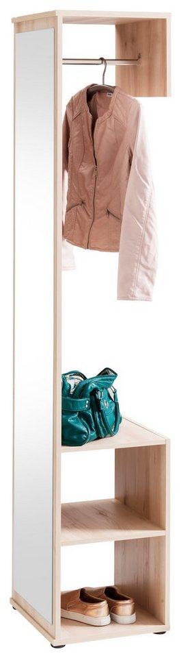 Garderobenpaneel »Alfred« in edelbuchefarben