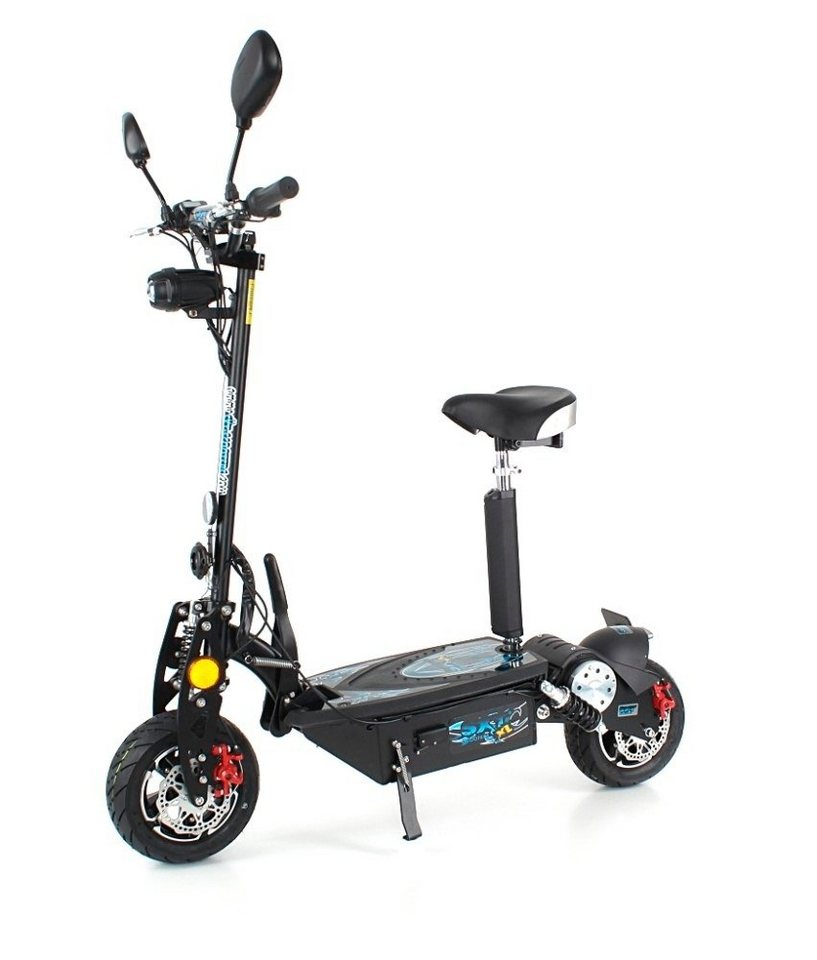 E-Scooter »SXT1000 XL EEC«, 1000 Watt, 40 km/h in schwarz