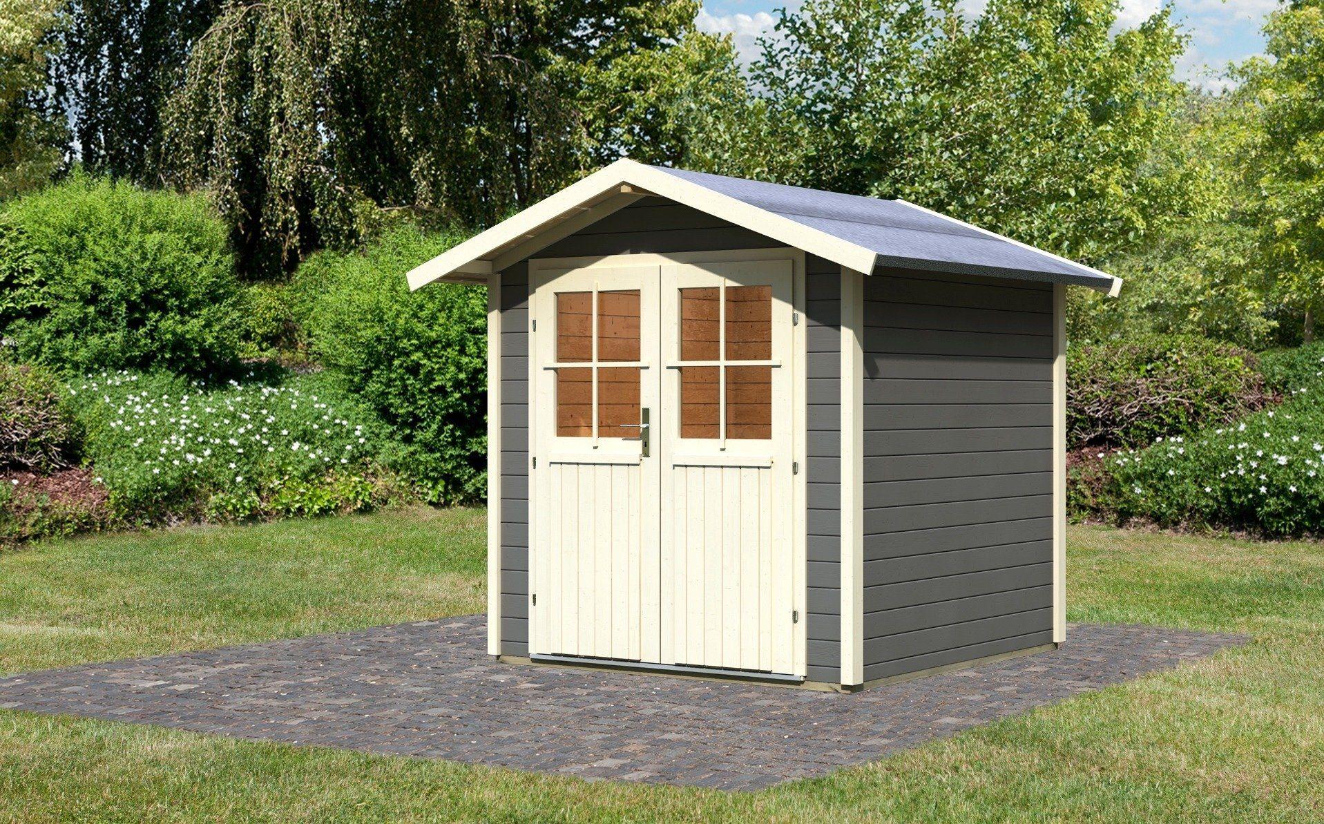 Karibu Gartenhaus »Smaland«, BxT: 200x200 cm