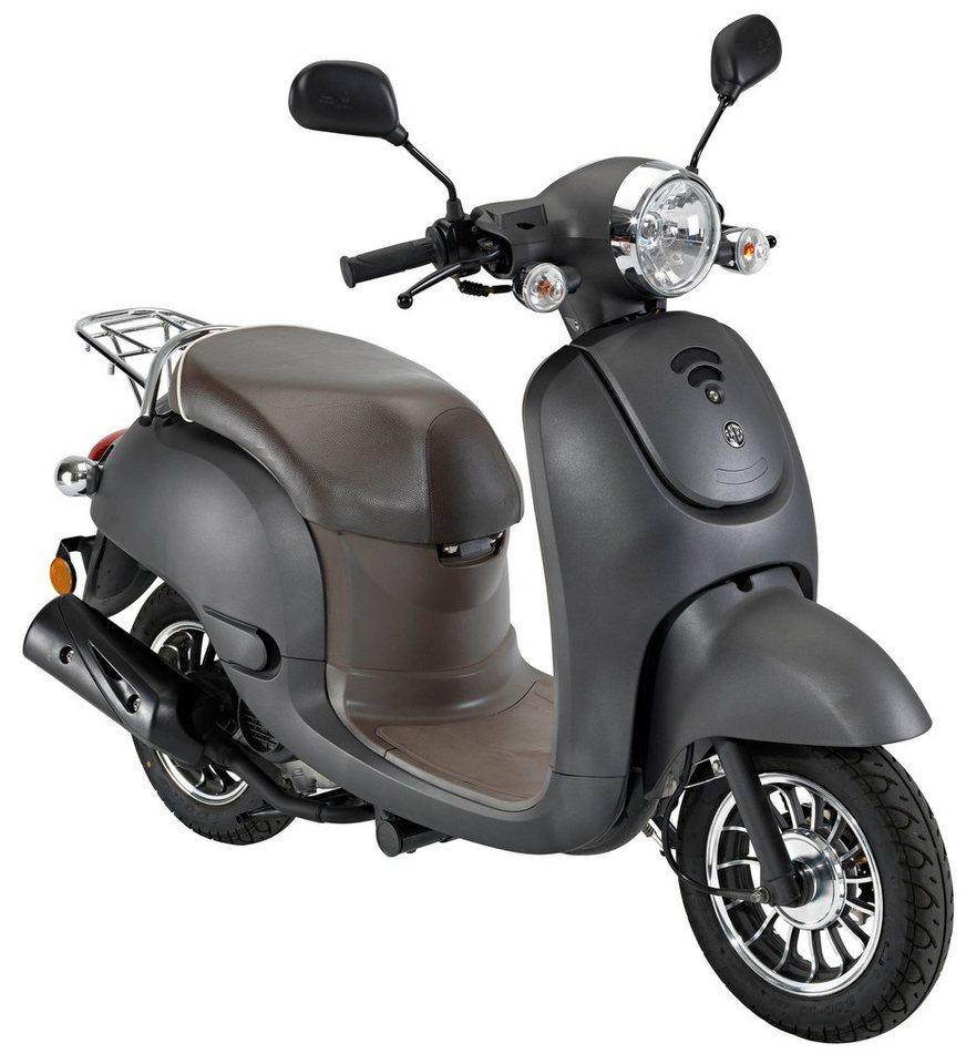 Motorroller »Luna«, 50 ccm, 45 km/h in grau