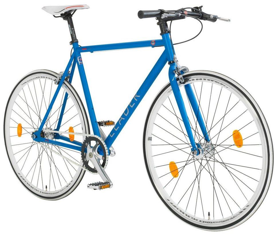 Singlespeed »Fixie, 71,12 cm (28 Zoll), RH 56 cm« in blau