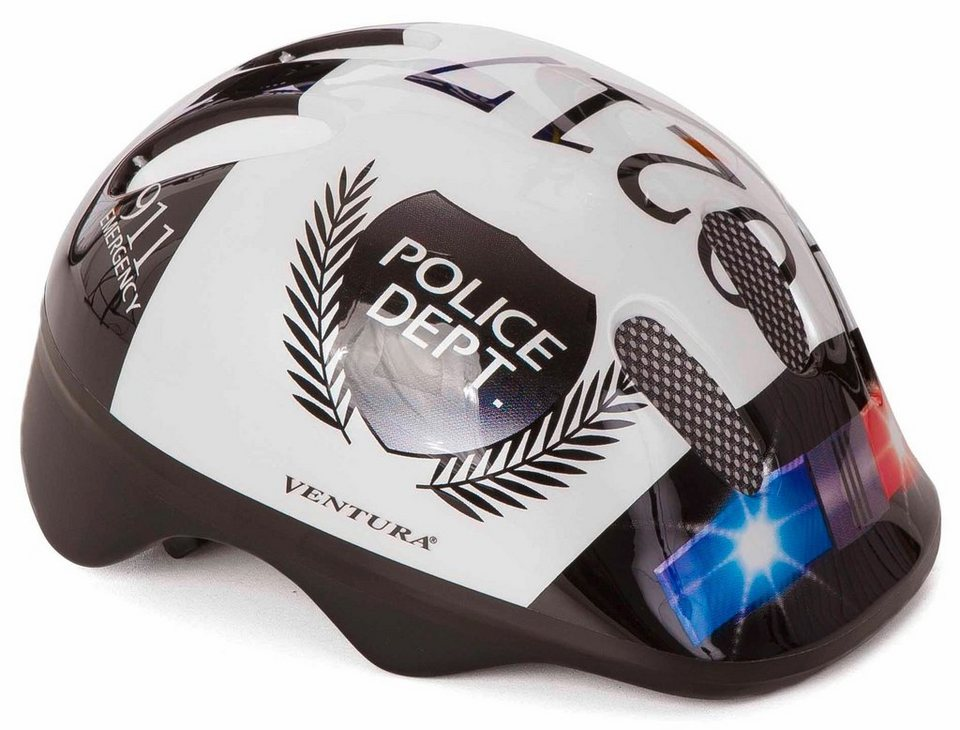 Cycles4Kids Kinder-Fahrradhelm »Police«