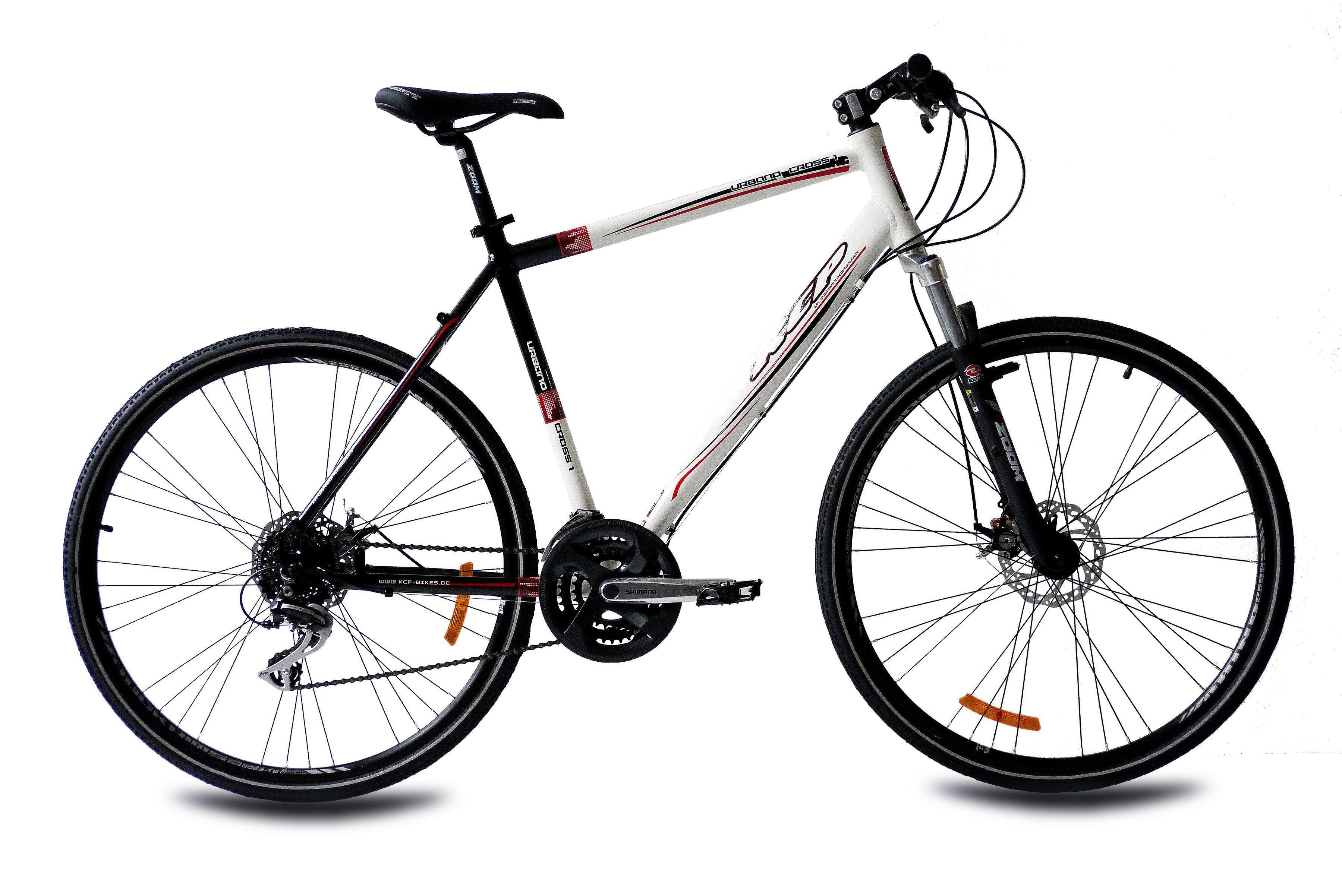 Crossbike »URBANO CROSSLINE 2.0«, 28 Zoll, 24 Gang, Scheibenbremsen