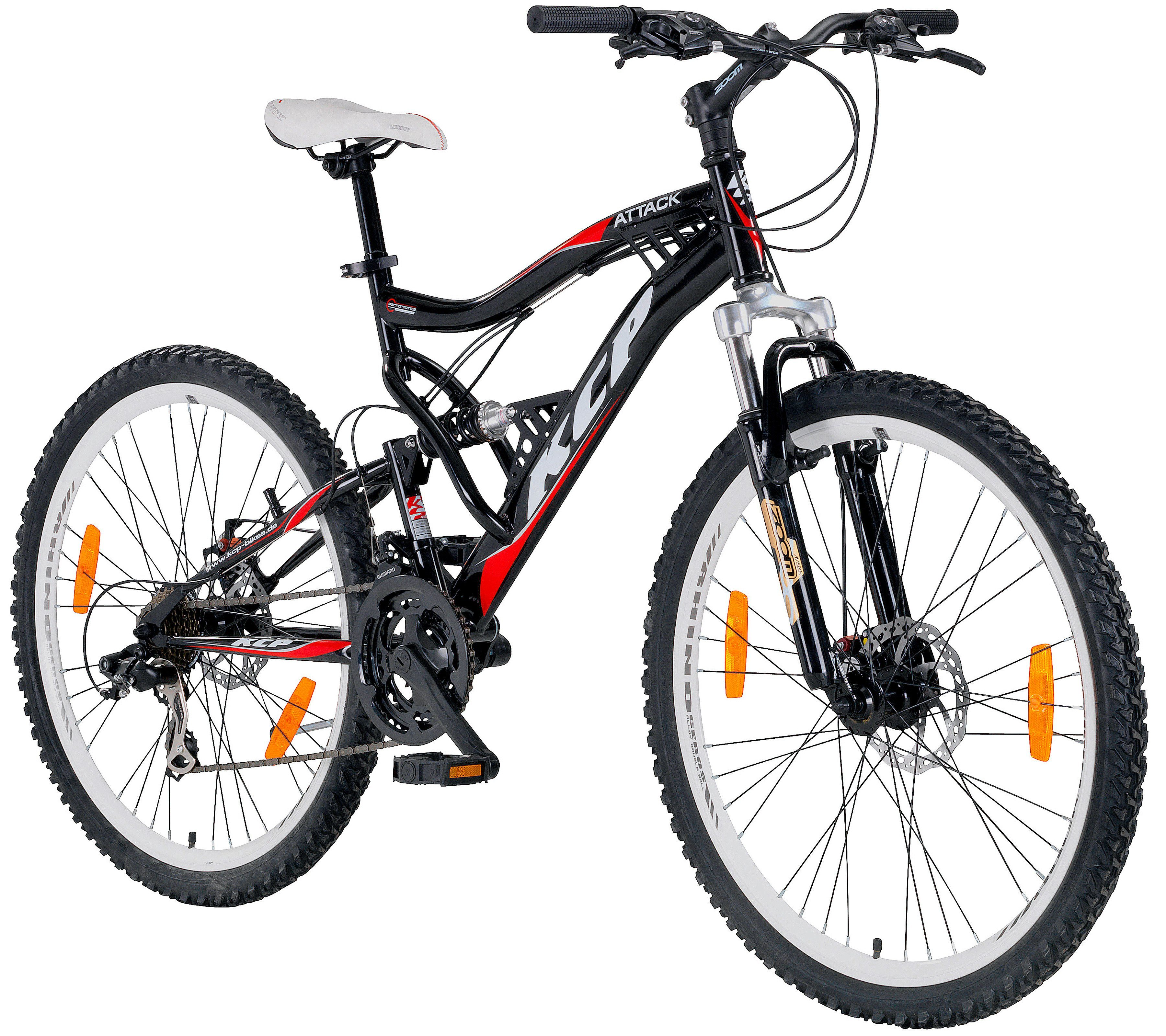 KCP Mountainbike »ATTACK, 66,04 cm (26 Zoll)«