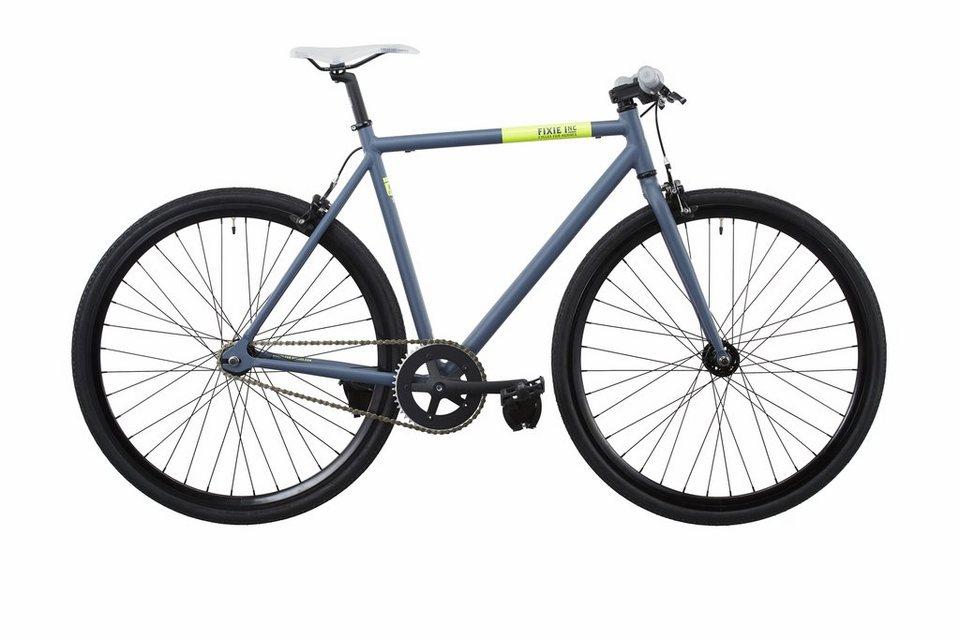 FIXIE Inc. Fahrrad »Backspin grey« in grau