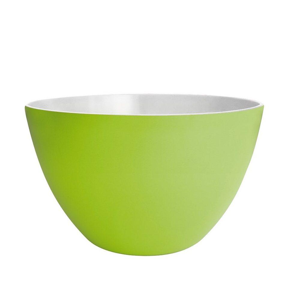 ZAK designs Zak designs Schüssel DUO 22cm grün-weiß in grün, weiß