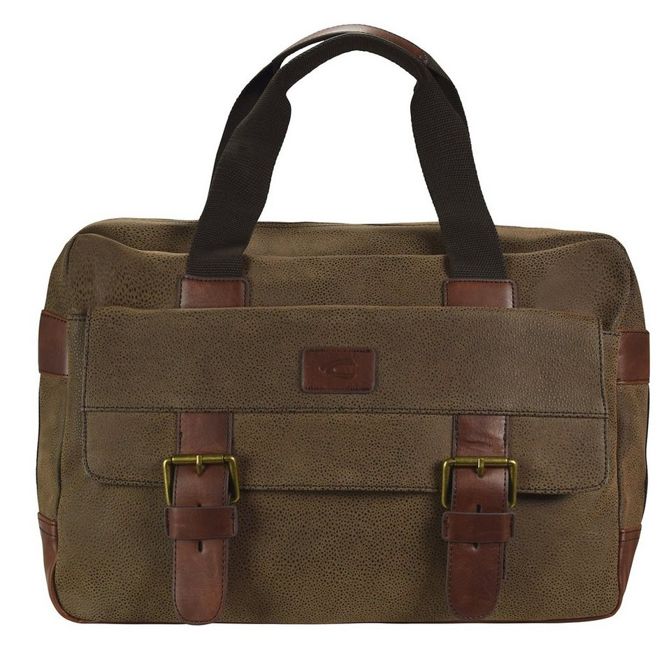 camel active Algier Aktentasche 40 cm in hellbraun