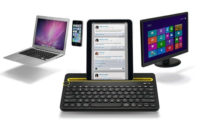 Logitech Tastatur »Bluetooth Multi-Device Keyboard K480«